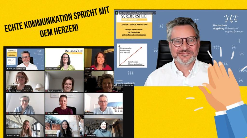Professor Manfred Uhl im Scribershub Content Snack