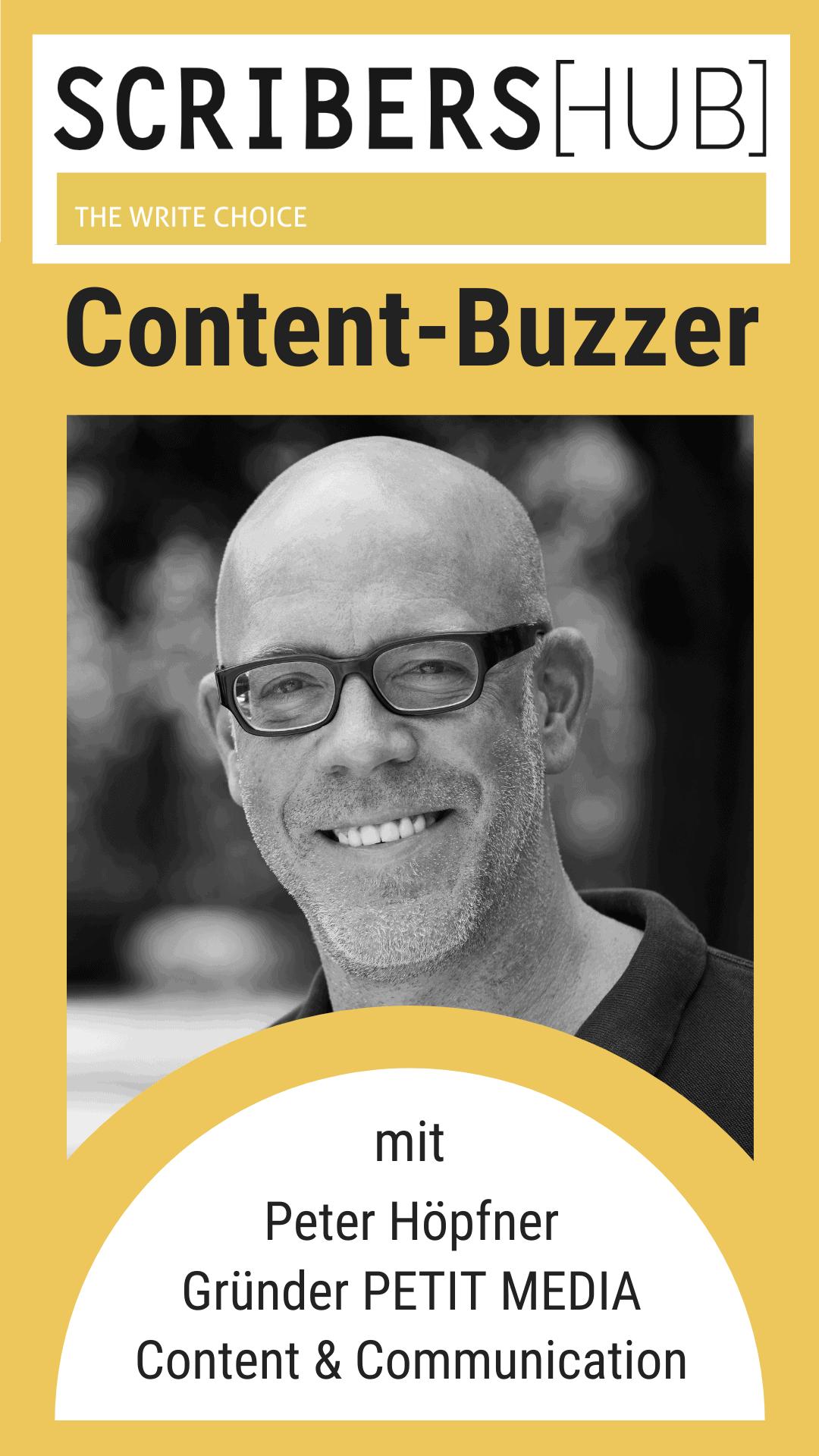Scribershub-Content-Buzzer-mit-Peter-Höpfner-von-Petit-Media-Content-und-Communication-Mobile