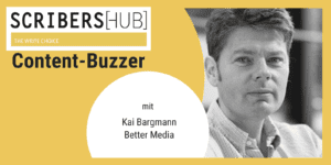 Kai Bargmann im Scribershub Content Buzzer