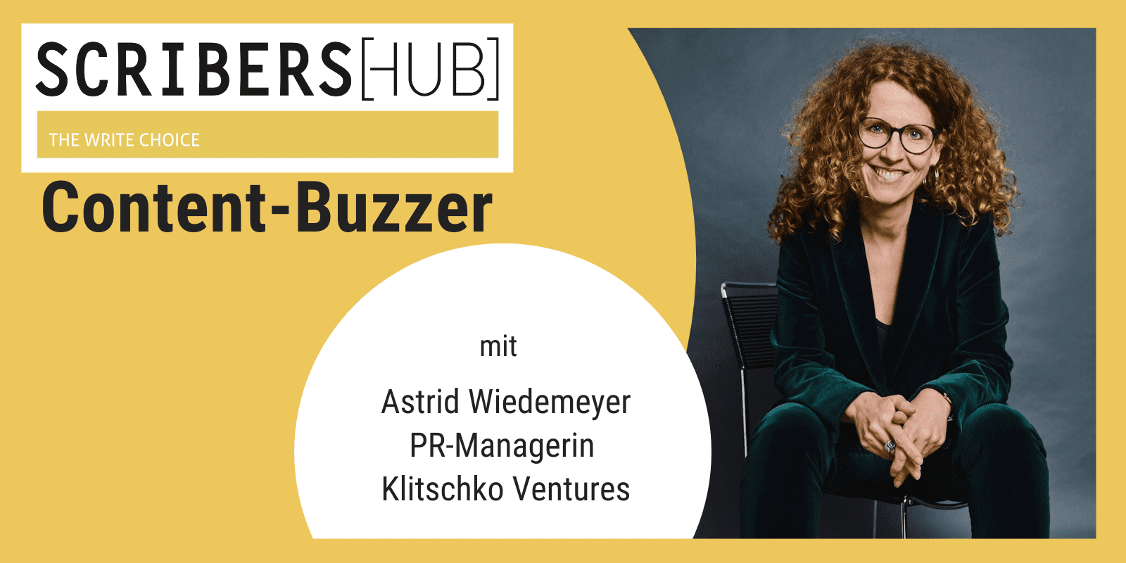Content-Buzzer mit Astrid Wiedemeyer